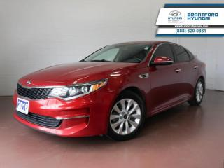 Used 2016 Kia Optima BLUETOOTH | BACK UP CAM | HEATED SEATS  - $82 B/W for sale in Brantford, ON