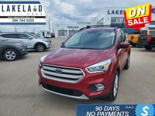 Used 2019 Ford Escape SEL 4WD  - Heated Seats -  Power Tailgate - $175 B/W for sale in Prince Albert, SK