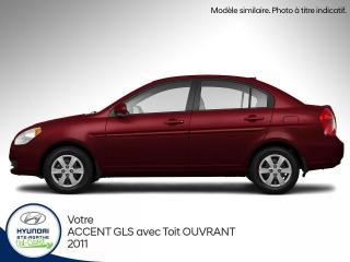 Used 2011 Hyundai Accent GLS Berline for sale in Val-David, QC