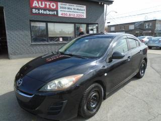 Used 2010 Mazda MAZDA3 GX**A/C**WOW!!** for sale in St-Hubert, QC
