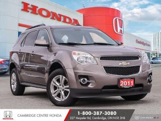 Used 2011 Chevrolet Equinox 2LT BLUETOOTH | REARVIEW CAMERA | POWER SUNROOF for sale in Cambridge, ON