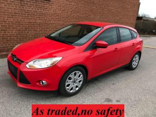 Used 2012 Ford Focus SE transmission shifts hard for sale in Oakville, ON