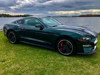 Used 2019 Ford Mustang BULLITT ONLY 308KM NEW CONDITION for sale in Perth, ON