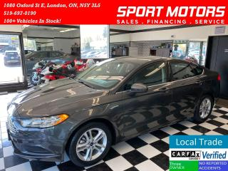 Used 2018 Ford Fusion SE+New Tires+Camera+Accident FREE for sale in London, ON