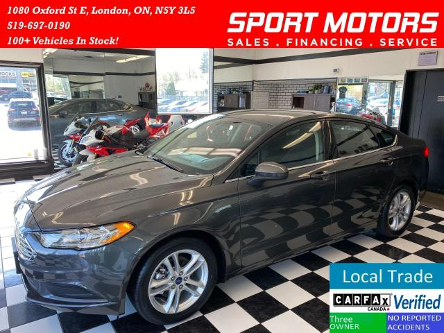 2018 Ford Fusion SE+New Tires+Camera+Accident FREE