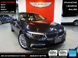 Used 2017 BMW 5 Series 530XI LUX | CARFAX CLEAN | HEA PKG | CERTIFIED | FINANCE | 9055478778 for sale in Oakville, ON