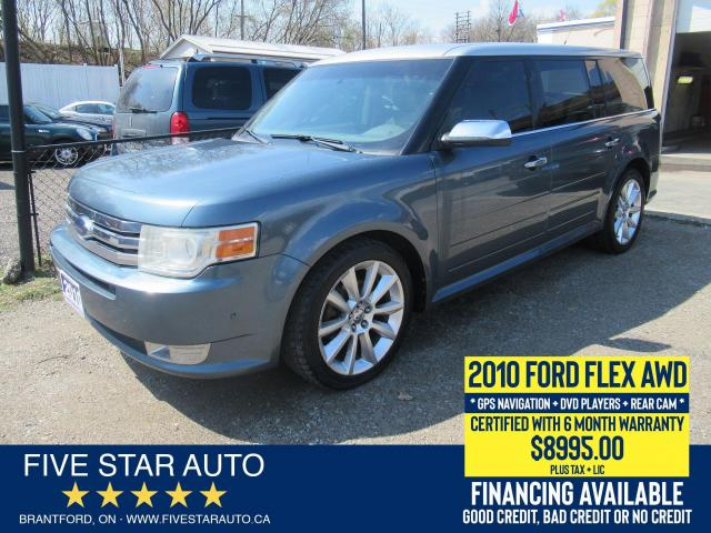 2010 Ford Flex Limited *Clean Carfax* Certified + 6 Month Wrnty