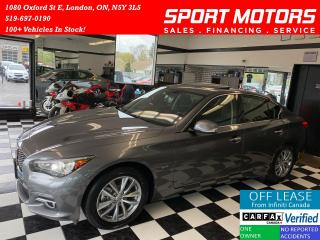 Used 2016 Infiniti Q50 2.0T+AWD+Camera+New Tires+ACCIDENT FREE for sale in London, ON