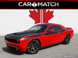 Used 2018 Dodge Challenger T/A / LEATHER / ROOF / NAV / NO ACCIDENT for sale in Cambridge, ON