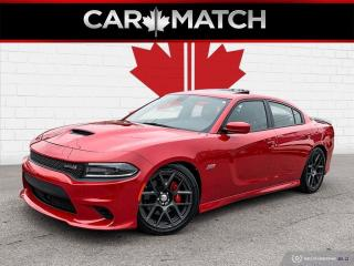Used 2016 Dodge Charger R/T SCAT PACK / NO ACCIDENTS / 6.2 V8 / ROOF for sale in Cambridge, ON