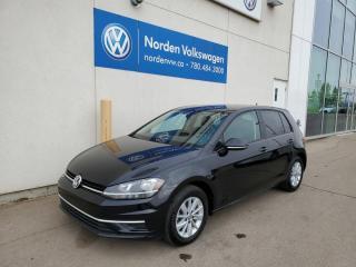Used 2018 Volkswagen Golf TRENDLINE+ 5DR AUTO - HTD SEATS / BACKUP for sale in Edmonton, AB