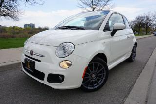 Used 2012 Fiat 500 SPORT / STUNNING / CLEAN CARFAX / LOCAL / SUNROOF for sale in Etobicoke, ON