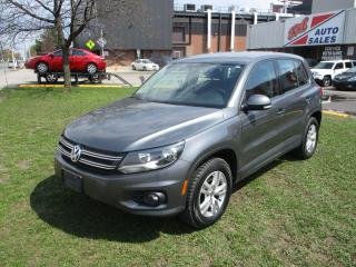 Used 2014 Volkswagen Tiguan Trendline ~ 4MOTION ~ LOW KM ~ WINTER TIRES for sale in Toronto, ON