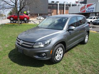 Used 2014 Volkswagen Tiguan Trendline ~ 4MOTION ~ LOW KM ~ WINTER TIRES for sale in Toronto, ON