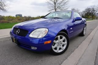 Used 1999 Mercedes-Benz SLK230 RARE / IMMACULATE / NO ACCIDENTS / LOCAL CAR for sale in Etobicoke, ON