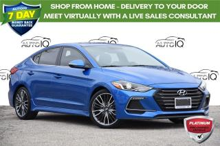 Used 2018 Hyundai Elantra Sport SPORT | AUTO | LEATHER | SUNROOF | for sale in Kitchener, ON