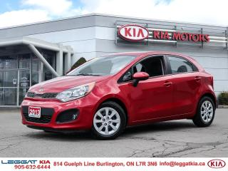 Used 2013 Kia Rio LX+/BLUETOOTH/HEATED SEATS/ONE OWNER / GOOD CONDITION for sale in Burlington, ON