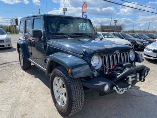 Used 2018 Jeep Wrangler Unlimited  Sahara for sale in Gloucester, ON
