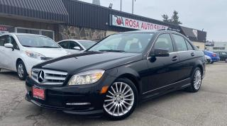 Used 2011 Mercedes-Benz C-Class 4dr Sdn C 250 4MATIC NO ACCIDENT LOW KM SUNROOF for sale in Oakville, ON