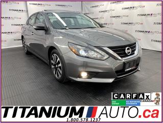 Used 2018 Nissan Altima SL+GPS+Blind Spot+Leather+Sunroof+Remote Start+App for sale in London, ON