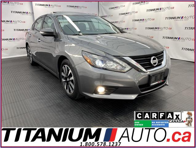 2018 Nissan Altima SL+GPS+Blind Spot+Leather+Sunroof+Remote Start+App
