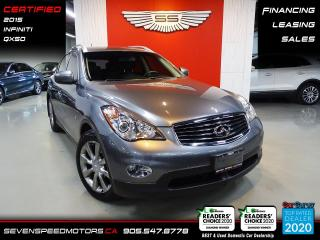 Used 2015 Infiniti QX50 AWD | CERTIFIED | FINANCE | 9055478778 for sale in Oakville, ON