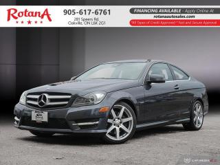 Used 2012 Mercedes-Benz C-Class C 350_Navi/Blind Sopt /Bluetooth/Pano Roof for sale in Oakville, ON