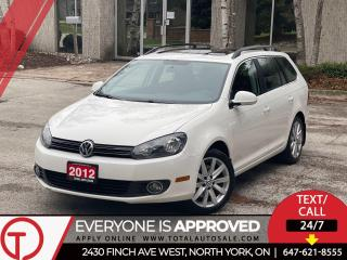 Used 2012 Volkswagen Golf Wagon HIGHLINE | WAGON | DIESEL for sale in North York, ON