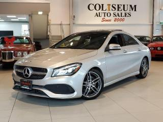 Used 2017 Mercedes-Benz CLA-Class CLA 250-AMG SPORT-PANO ROOF-CAMERA-NAVI-LED-55KM for sale in Toronto, ON
