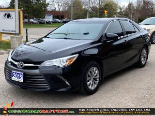 Used 2015 Toyota Camry LE|LOW KM|NO ACCIDENT|REVERSE CAMERA|CERTIFIED for sale in Oakville, ON