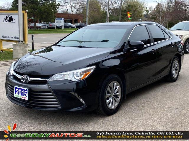 2015 Toyota Camry LE LOW KM NO ACCIDENT REVERSE CAMERA CERTIFIED