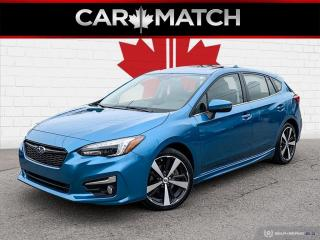 Used 2017 Subaru Impreza SPORT-TECH W/TECH PKG / EYESIGHT / SUNROOF for sale in Cambridge, ON