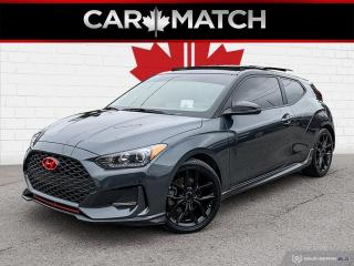 Used 2019 Hyundai Veloster TURBO TECH / NO ACCIDENTS / NAV / ROOF for sale in Cambridge, ON