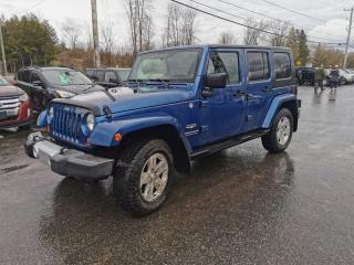 Used 2010 Jeep Wrangler Unlimited Sahara for sale in Madoc, ON