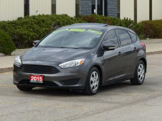 Used 2015 Ford Focus TITANIUM,LEATHER,NAVIGATION,BACKUP-CAM,CERTIFIED, for sale in Mississauga, ON