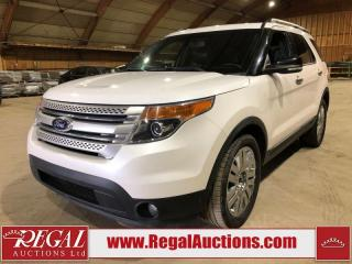 Used 2014 Ford Explorer XLT 4D Utility 4WD for sale in Calgary, AB