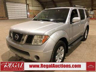 Used 2005 Nissan Pathfinder LE 4D Utility for sale in Calgary, AB