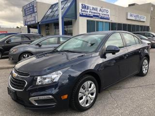 Used 2015 Chevrolet Cruze 1LT BACK CAMERA|BLUETOOTH|CERTIFIED for sale in Concord, ON