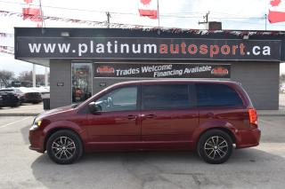 Used 2017 Dodge Grand Caravan CVP/SXT NO ACCIDENTS!! DVD/TV FOR KIDS!! SECOND ROW BUCKET SEATS!! BACKUP CAMERA!! BLUETOOTH!! for sale in Saskatoon, SK