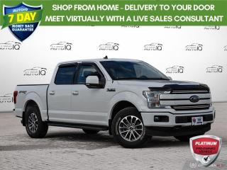 Used 2019 Ford F-150 Lariat | ONE OWNER | NO ACCIDENTS | MEMORY POWER SEAT | LEATHER | for sale in Barrie, ON
