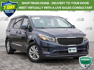 Used 2017 Kia Sedona LX | NO ACCIDENTS | POWER SEAT | EXTERIOR PARKING CAMERA | for sale in Barrie, ON