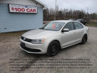 Used 2011 Volkswagen Jetta comfortline for sale in North Bay, ON