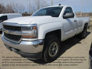 Used 2016 Chevrolet Silverado 1500 Work Truck for sale in North Bay, ON