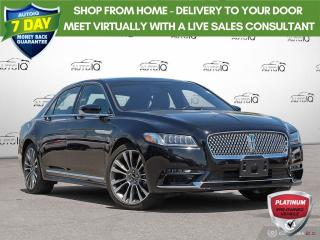 Used 2019 Lincoln Continental Reserve for sale in Oakville, ON