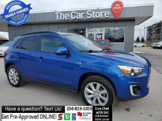 Used 2015 Mitsubishi RVR AWD GT Leather Sunroof Rear Cam Head Seat push str for sale in Winnipeg, MB