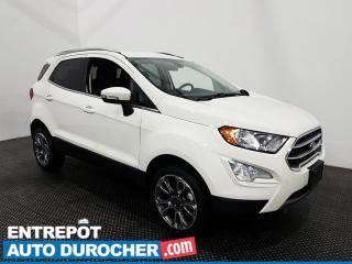 Used 2020 Ford EcoSport Titanium - AWD - Apple CarPlay - Navigation for sale in Laval, QC