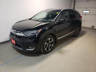 Used 2018 Honda CR-V Touring Htd Leather Navi 1Owner Rmt Start Local for sale in Brandon, MB