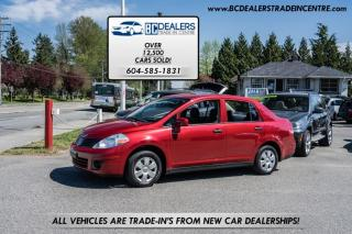 Used 2010 Nissan Versa 1.6L Hatchback, Automatic, Affordable, No Accidents! for sale in Surrey, BC