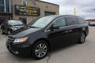 Used 2014 Honda Odyssey TOURING/7-PASS/NAV/REARVIEW CAMERA/ENTERTAINMENT SYSTEM for sale in Newmarket, ON
