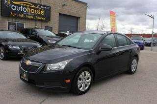 Used 2012 Chevrolet Cruze FWD/LT/TURBO/CLOTHE INTERIOR/ECO/6-SPEED/LOW KM for sale in Newmarket, ON
